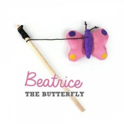 Beco Plush Wand Toy - Beatrice de Vlinder